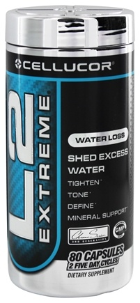 DROPPED: Cellucor - L2 Extreme Water Loss - 80 Capsules