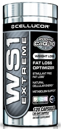 DROPPED: Cellucor - WS1 Extreme Stimulant Free Fat Loss Optimizer - 120 Capsules CLEARANCE PRICED