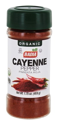 DROPPED: Badia - Organic Cayenne Pepper - 1.75 oz.