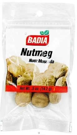 DROPPED: Badia - Whole Nutmeg - 0.5 oz. CLEARANCE PRICED