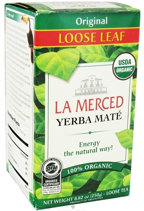 DROPPED: La Merced - Yerba Mate Loose Leaf 100% Organic Original - 8.82 oz.