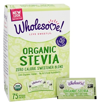 Wholesome! - Organic Stevia - 75 Packet(s)