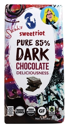 Sweetriot - Organic Pure 85% Dark Chocolate - 3.5 oz.
