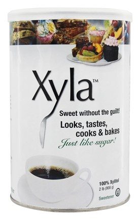 Xylitol USA - Xyla All Natural Sugar Free Sweetener - 2 lbs.
