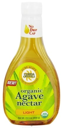 DROPPED: Florida Crystals - Organic Agave Nectar Light - 23.5 oz. CLEARANCE PRICED