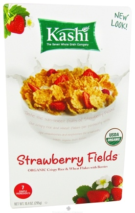 DROPPED: Kashi - Strawberry Fields Organic Crispy Rice & Wheat Flakes with Berries - 10.4 oz.