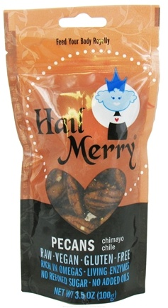 DROPPED: Hail Merry - Pecans Chimayo Chile - 3.5 oz.