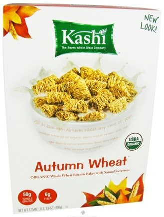 DROPPED: Kashi - Autumn Wheat Organic Whole Wheat Biscuits Baked with Natural Sweetness - 17.5 oz.