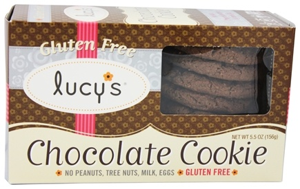 DROPPED: Lucy's - Gluten Free Cookies Chocolate - 5.5 oz.
