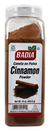 Badia - Ground Cinnamon Powder - 16 oz.