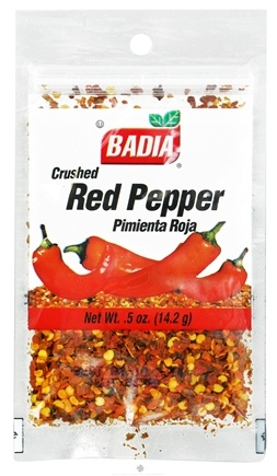 DROPPED: Badia - Crushed Red Pepper - 0.5 oz. CLEARANCE PRICED