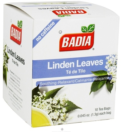 DROPPED: Badia - Linden Leaves Tea - 10 Tea Bags CLEARANCE PRICED