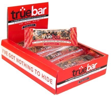 DROPPED: Bakery On Main - True Bar Hazelnut Chocolate Cherry - 40 Grams