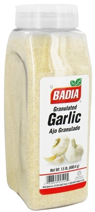 DROPPED: Badia - Granulated Garlic - 1.5 lb.