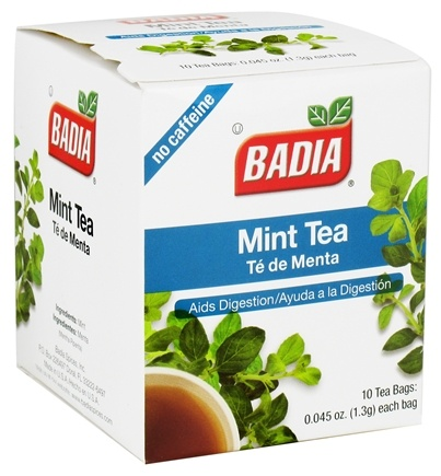 DROPPED: Badia - Mint Tea - 10 Tea Bags CLEARANCE PRICED