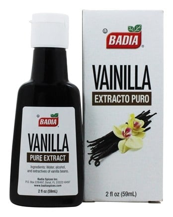 Badia - Pure Vanilla Extract - 2 oz.