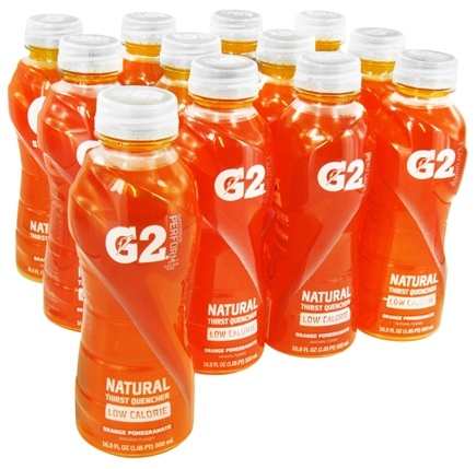 DROPPED: Gatorade - G2 Low Calorie 02 Perform Natural Thirst Quencher Orange Pomegranate - 16.9 oz.