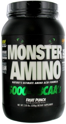 DROPPED: Cytosport - Monster Amino Ultimate Amino Acid Formula Fruit Punch - 2.65 lbs. CLEARANCE PRICED