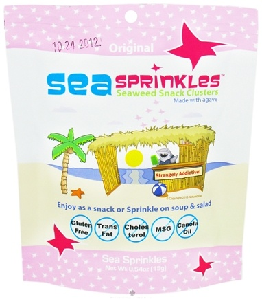 DROPPED: SeaSnax - Sea Sprinkles Seaweed Snack Clusters Grab & Go - 0.54 oz.