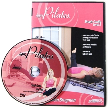 Stamina Products - AeroPilates Level Two Simply Cardio Workout with Marjolein Brugman DVD 05-9126D