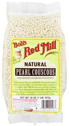 DROPPED: Bob's Red Mill - Pearl Couscous Natural - 16 oz. CLEARANCE PRICED