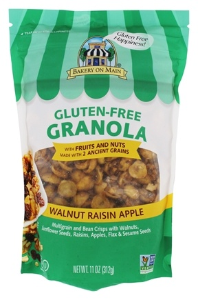 Bakery On Main - Granola Gluten Free Apple Raisin Walnut - 12 oz.