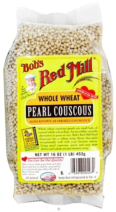 DROPPED: Bob's Red Mill - Pearl Couscous Whole Wheat - 16 oz. CLEARANCE PRICED