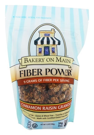 Bakery On Main - Fiber Power Granola Gluten Free Cinnamon Raisin - 12 oz.