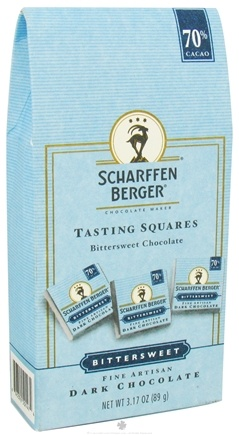 DROPPED: Scharffen Berger - Tasting Squares Dark Chocolate Bittersweet - 3.17 oz. CLEARANCE PRICED
