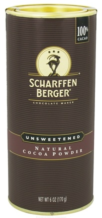 DROPPED: Scharffen Berger - Natural Cocoa Powder Unsweetened - 6 oz.