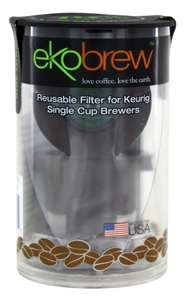 DROPPED: Ekobrew - Reusable K-Cup Coffee Filter for Keurig Single Cup Brewers - 1 Filter(s)