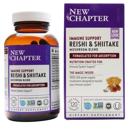 New Chapter - Lifeshield Immunity - 120 Vegetarian Capsules