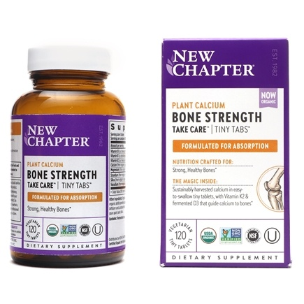 New Chapter - Bone Strength Take Care Tiny Tabs - 120 Tablets