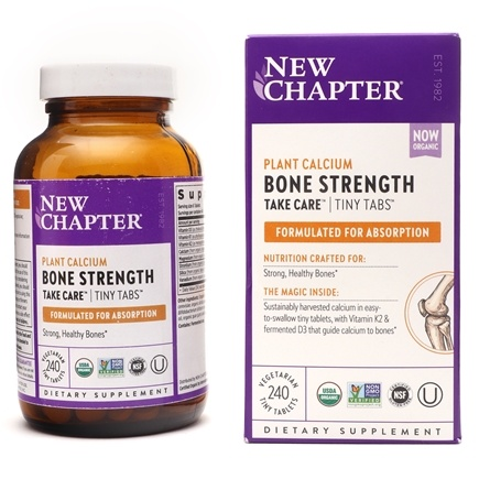 New Chapter - Bone Strength Take Care Tiny Tabs - 240 Tablets