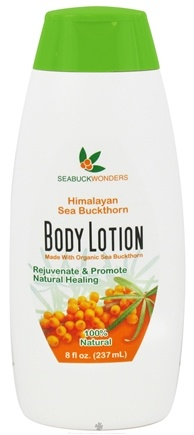 DROPPED: Seabuck Wonders - Body Lotion with Organic Sea Buckthorn - 8 oz.