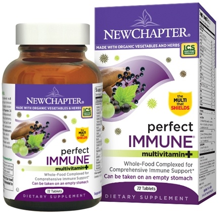DROPPED: New Chapter - Perfect Immune - 72 Tablets