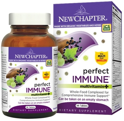DROPPED: New Chapter - Perfect Immune - 96 Tablets