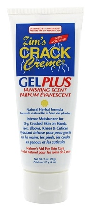 Zim's - Crack Creme Gel Plus Natural Herbal Formula Vanishing Scent - 2 oz.