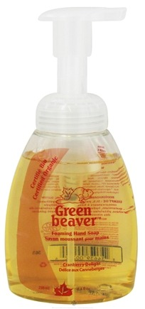 DROPPED: Green Beaver - Foaming Hand Soap Cranberry Delight - 8.4 oz. CLEARANCE PRICED