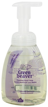 DROPPED: Green Beaver - Foaming Hand Soap Lavender Rosemary - 8.4 oz. CLEARANCE PRICED