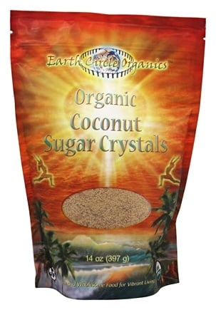 Earth Circle Organics - Organic Coconut Sugar Crystals - 14 oz.