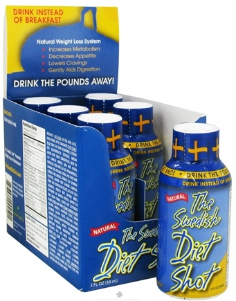 DROPPED: The Swedish Diet - Natural Weight Loss System Diet Shot - 2 oz.