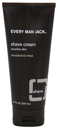 Every Man Jack - Shave Cream Fragrance Free - 6.7 oz.