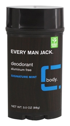 DROPPED: Every Man Jack - Deodorant Stick Aluminum Free Signature Mint - 3 oz.
