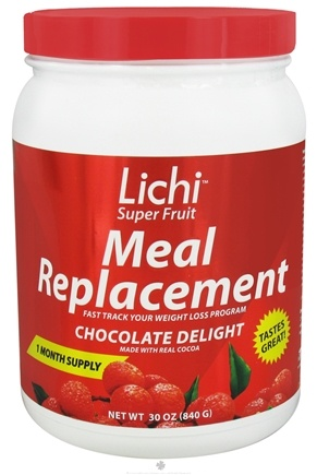DROPPED: Lichi Super Fruit Diet - Meal Replacement Chocolate Delight - 30 oz. CLEARANCE PRICED