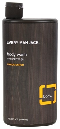 DROPPED: Every Man Jack - Body Wash and Shower Gel Citrus Scrub - 16.9 oz.
