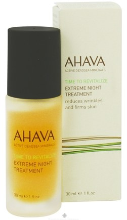 DROPPED: AHAVA - Time To Revitalize Extreme Night Treatment - 1 oz. CLEARANCE PRICED