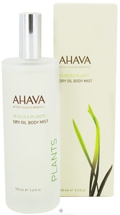 DROPPED: AHAVA - DeadSea Plants Dry Oil Body Mist - 3.4 oz. CLEARANCE PRICED