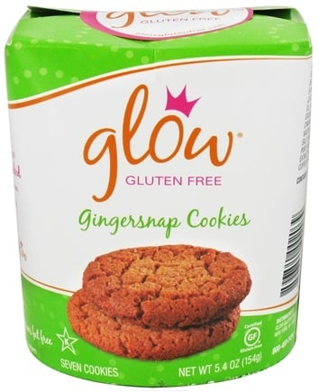DROPPED: Glow Gluten Free - Gingersnap Cookies - 5.4 oz.