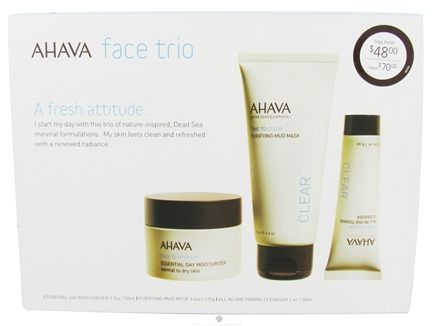 DROPPED: AHAVA - My Skin Reborn Face Trio Kit - CLEARANCE PRICED